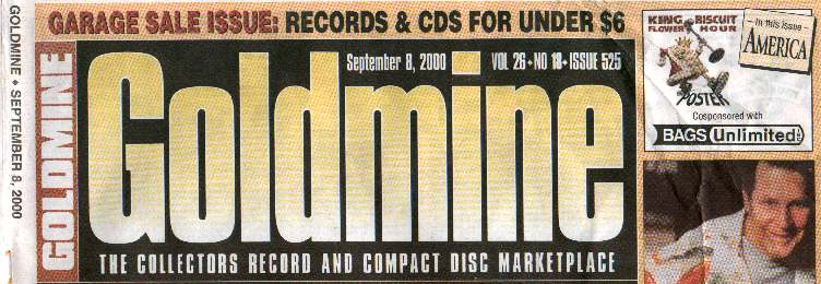Goldmine magazine August 2017 Beach Boys Gregg Allman Jan and Dean Nesmith Monkees
